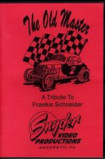 """Frankie Schneider """"The Old Master"""" DVD - Snyder Video Productions"""