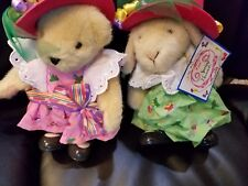 "Vanderbear ""Spring Bonnets"" "" Muffy & Hoppy""  A Silly Milly nery Collection"