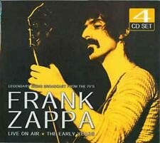 FRANK ZAPPA - LIVE ON AIR  4 CD SET NEW STILL SEALED