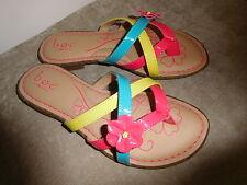 Girls' Boc Born Belinda Fuch Rainbow Sandals Casual Shoes 3 M 34 880008