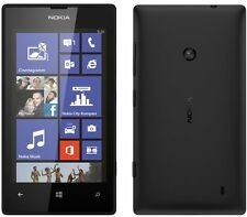 BRAND NEW NOKIA LUMIA 520 BLACK AT&T UNLOCKED GSM 8GB WINDOWS 8 WIFI SMARTPHONE