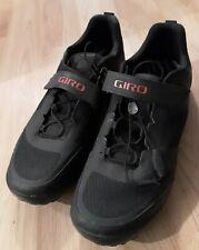 Giro Ventana Fastlace Men's Shoes Black Size Eu 46/Us 12 w/Shimano Cleats!