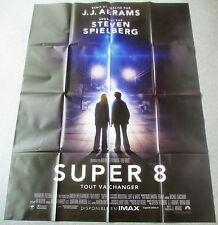 AFFICHE CINEMA 7183 - SUPER 8 - JJ ABRAMS - STEVEN SPIELBERG - 120/160