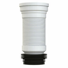 Slinky-fit WC lungo flessibile WC PAN connettore 300-700mm VIVA pp0002 * più conveniente