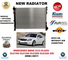 FOR MERCEDES BENZ CLC CLASS CLC160 CLC180 CLC200 CLC220 CDi 2008->2011 RADIATOR