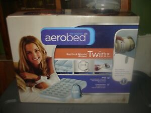 Aerobed original  Twin 9 IN Height Air Mattress with Handheld Pump NEW aero bed