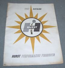 1967 HURST CATALOG- 3 speed- 4 speed -Dazzler Wheels  Motor Mounts-Hydro Gate
