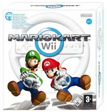 Nintendo Wii Game Mario Kart Without Steering Wheel in With Manual