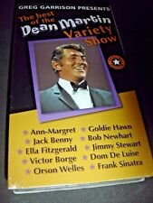 The Best of Dean Martin Variety Show Volume Special Edition VHS NEW Orson Welles