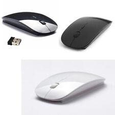 ottico wireless wifi filo Mouse senza nero pc notebook netbook computer usb jc