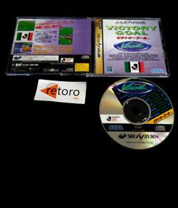 VICTORY GOAL J. LEAGUE OFFICIAL TV GAME Sega Saturn SS JAP Sega Sports