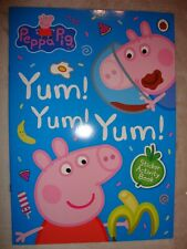 Peppa Pig Sticker Activity Book Yum! Yum! Yum! Sticker Book Brand New RRP £3.99