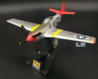 New 1:72 P-51 Red Tails Mustang Fighter Aircraft Static Display 3D Plastic Model