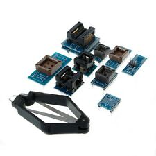 10 Programmer Adapters Sockets Kit For TL866CS TL866A EZP2010 with IC Extractor