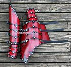 Layered Dragon Rider Gauntlets arm Armor w elbows SCA LARP fantasy medieval Ren