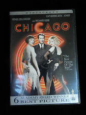 CHICAGO DVD Renee ZELLWEGER Richard GERE Catherine ZETA-JONES Queen LATIFAH