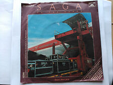 SINGLE PROMO SAGA - ON THE LOOSE - POLYDOR GERMANY 1982 VG/VG+