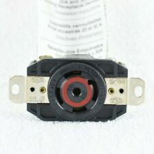 Leviton 2820 30A Receptacle 3-Phase Locking