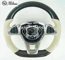 LE TEF® Carbon Beige Lenkrad für Mercedes-Benz AMG W218 C292 W166 W176 W117 R231