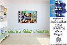 Tinkerbell Pared Adhesivo Disney'S Decoración Arte Para Dormitorio De Niños Niñas Habitación de gran tamaño.