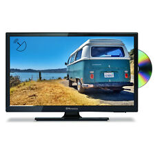 """EMtronics 20"""" Inch HD Ready 12 Volt TV with DVD Player and Satellite Tuner"""