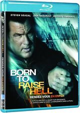 BORN TO RAISE HELL - Steven Seagal- Blu Ray Movie- Brand New & Sealed