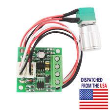 Mini DC Motor Speed Controller PWM Adjustable Variable Switch 6V 12V 15V 2A 30W