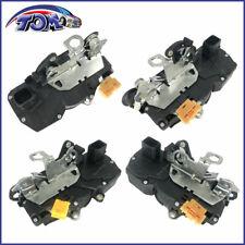Door Lock Actuator Motor Rear Front Left/Right Fits 06-11 Chevrolet Impala 4PCS
