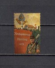 Deutsches Reich Revenue Cinderella Vignette Propaganda MNH OG