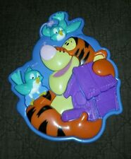 EUC~ 2000 Disney's Winnie the Pooh 3-D 10-Piece Plastic Tigger Puzzle