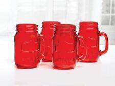 Circleware - Yorkshire Mason Mug 517ml Red Set of 4