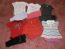 Lot Baby Girl Summer Clothes Outfits One Piece Size Newborn