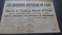 Newspapers the Last European Nouvelles de Paris N°18 Sunday 7 July 1940 ABE
