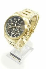 Michael Kors MK8361 Gage Black Dial Gold-Tone Bracelet Men's Chronograph Watch