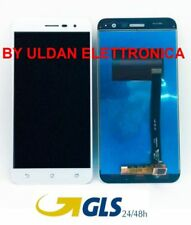 TOUCH SCREEN VETRO + LCD DISPLAY Per Asus Zenfone 3 ZE520KL Z017D Z017DA Bianco