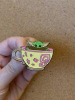 Baby Yoda *The Child* Fantasy Pin- Star Wars Mandalorian Alice In Wonderland Tea