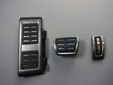 Audi a3 8v VW Golf VII 7 pedal tapas de acero inoxidable dsg Automatik pedales pedalset