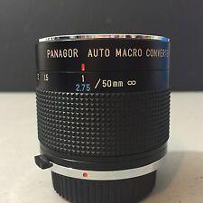 Panagor Auto Macro Converter 50mm Lens