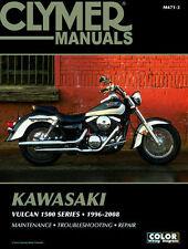 1996-2008 Kawasaki Vulcan 1500 Classic Drifter Nomad Repair Service Manual M4713