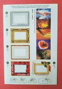 """Canada Stamp #1882 """"Christmas Picture Postage"""" Booklet pane of 5 2000"""