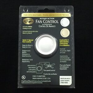 Hampton Bay Fan Control 750 450 Rotary Action Fan Control Quiet 3 Speed