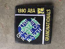 ABA Grands 1990 Vintage BMX Jersey Patch Old Mid School MINT NBL NOS
