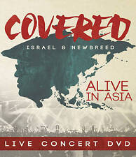 Israel and New Breed: Covered- Alive in Asia (DVD, 2016,Super Jewel Case) sealed
