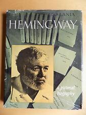 HEMINGWAY: A Pictorial Biography ~ Leo Lania, 1961, Hardcover w/jacket, Illust.
