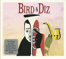 BIRD & DIZ - 3 CD BOX SET - CHARLIE PARKER & DIZZY GILLESPIE