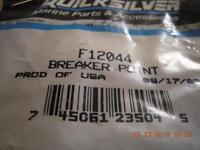 R27 Genuine Mercury Quicksilver F12044 Breaker Point Set New Factory Boat Parts