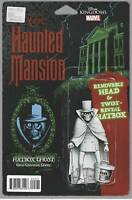 The HAUNTED MANSION #5 MARVEL COMICS  CHRISTOPHER ACTION FIGURE Variant Cover B