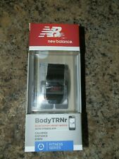 New Balance Body TRNr Bluetooth Smart Watch w/ Fitness App. Midnight.