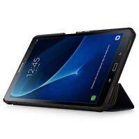 Coque Housse Tablet Samsung Galaxy Tap A 10.1 Cuir Fonction Sommeil Réveil
