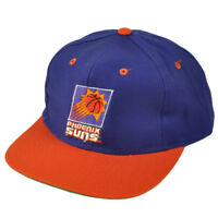Phoenix Suns Dead Stock Vintage Snapback Hat Cap Old School Purple Basketball